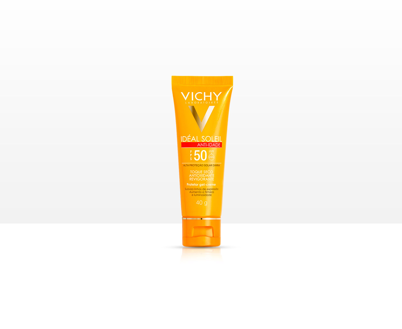 Protetor Solar Facial Vichy Ideal Soleil Anti-idade FPS50 - 40g