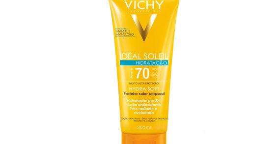 Vichy apresenta Idéal Soleil Hydrasoft FPS70