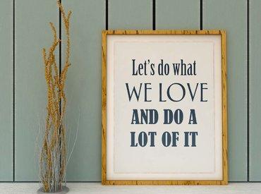 Hoje eu quero...